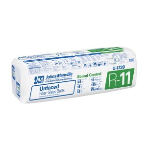 Johns Manvile R 11 15 unfaced insulation