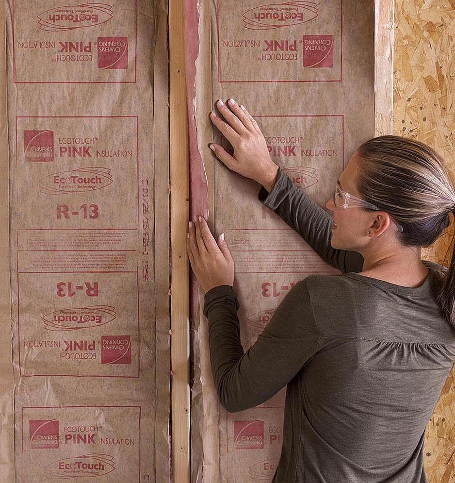 R 13 Faced Insulation